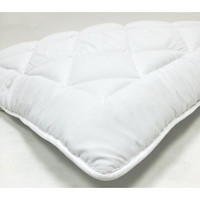 Mattress Topper / Pad - Multiple Sizes - Hypoallergenic Down Alternative With Stay Tight Anchor Straps in Olympic Queen Size