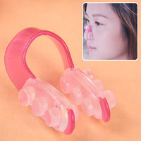 Nose Clip in Red and Transparent