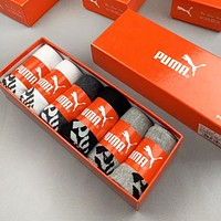PUMA Fashion Women Men Casual Breathable Sport Socks+Gift Box