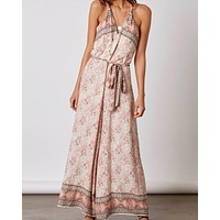 Final Sale - Cotton Candy - Morning Glory Jumpsuit in Terracotta