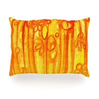 "Ebi Emporium ""Summer Sentiments"" Oblong Pillow"