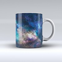 The Vector Space ink-Fuzed Ceramic Coffee Mug
