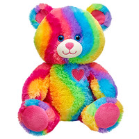 10 in. Recordable Rainbow Plush Bear