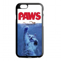 PAWS Movie Parody Funny cat attack For iphone 6s case