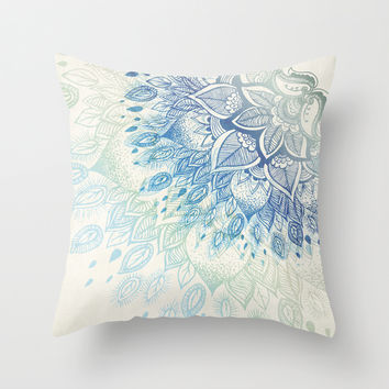 Dahlia Throw Pillow by Rskinner1122