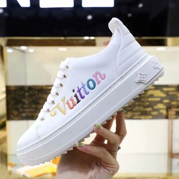 LV Fashion Casual Running Sport Shoes Sneakers Slipper Sandals High Heels Shoes