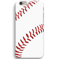Baseball Ball Sewing Sport Pattern iPhone 6 Case, iPhone 5S Case