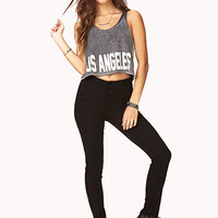 City Of Angeles Cropped Tank
