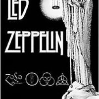 Led Zeppelin Poster Flag Stairway To Heaven Zoso Tapestry