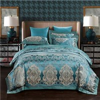 Gold and Teal Bedding Set