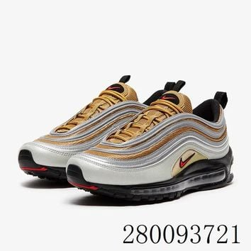 HCXX 19July 983 Nike Air Max 97 BV0306-001 Reflective Flyknit Breathable Running Shoes