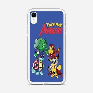 Pokemon Anime Cartoon All 8 Gym Badges 2 iPhone XR Case