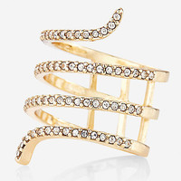 PAVE COIL RING from EXPRESS