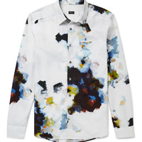 PS by Paul Smith - Slim-Fit Printed Cotton Shirt   MR PORTER