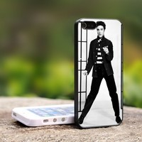 elvis presley dance am - For iPhone 4,4S Black Case Cover