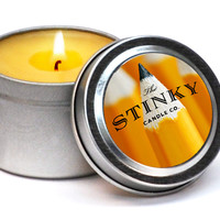 NO.2 PENCIL SCENTED STINKY CANDLE