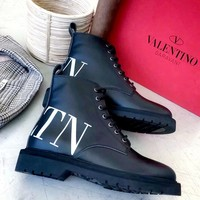 Free shipping-Valentino women's non-slip wear-resistant platform boots