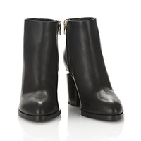 Alexander Wang GABI BOOTIE WITH YELLOW GOLD BOOTS | Official Site