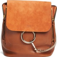 Chloé Medium Faye Suede & Leather Backpack | Nordstrom
