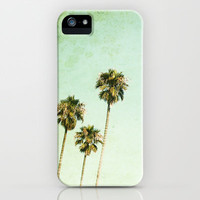 palm trees iPhone Case by Mareike Böhmer | Society6