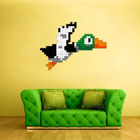 Full Color Wall Decal Vinyl Sticker Decor Art Bedroom Design Mural Like Paintings Minecraft Duck Video Game (col519)
