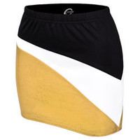 Invittaional Metallic Performance Stretch Cheerleading Uniform Skirt  - New 2013 Cheer Outfits by Chasse