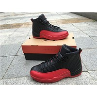 Air Jordan 12 Flu Game Basketball Shoes Men Women 12S XII High Quality Athletic Ourdoor Sports Trainers Sneakers Size36-47 With Box