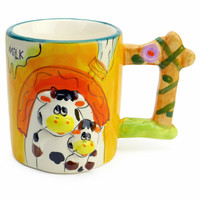 Animal Cup with Sound: Cow & Calf