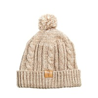 ASOS Tiny Beanie Hat with Bobble in Wool Blend