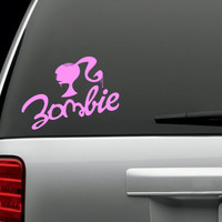 Zombie Barbie Logo Decal by Decalicious on Etsy