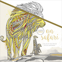 Kaiser Colour On Safari Adult Coloring Book