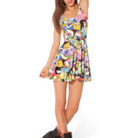 Adventure Time Bro Ball Reversible Skater Dress