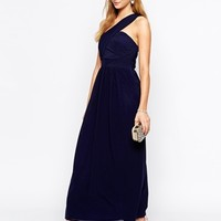 TFNC Maxi Dress With One Shoulder Detail