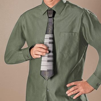 Musical Battery Operated Keyboard Necktie