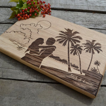 Housewarming Gift Personal Engraving For Wedding Cutting Board  Original Wedding Gift Wooden Cutting Board Cookware Bridal Shower Gift