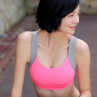 Fashionable Women Sexy Criss Cross back Sport Suit Fitness Sportswear Stretch Exercise Yoga b199
