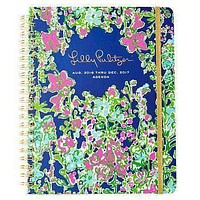 17 Month Jumbo 2017 Agenda in Southern Charm by Lilly Pulitzer