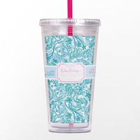 Lilly Pulitzer - Tumbler With Straw- Alpha Delta Pi