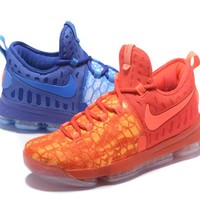 """Nike Mens Kevin Durant 9 """"Fire & Ice"""" Basketball Shoe US7-12"""