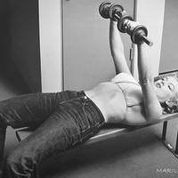 Marilyn Monroe - Bench Press Posters at AllPosters.com