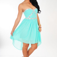 MINUET: Call It Magic Dress: Mint