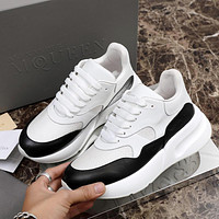 Alexander McQueen Coloured Broad Sports Shoes-1