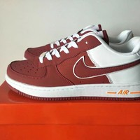Nike Air Force 1 Unisex Sport Casual Multicolor Low Help Shoes Sneakers Couple Plate Shoes