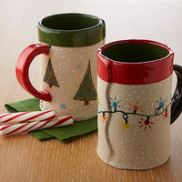 Holiday Mugs  by Vaughan Nelson: Ceramic Mug | Artful Home