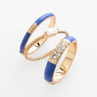 Ariella Collection Stackable Rings (Set of 3) (Nordstrom Exclusive) | Nordstrom