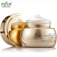 ISILANDON Gold Snail Essence Face Cream Acne Treatment Black Head Remove Skin Care Whitening Moisturizing Face Care Anti Aging