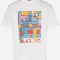 NEW 100% Authentic valentino women and men t shirt ※002