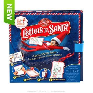 Scout Elf Express Delivers Letters To Santa