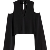 H&M Open-shoulder Top $17.99