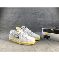 """OFF-WHITE x Nike Dunk Low """"The 50"""" Collection"""
